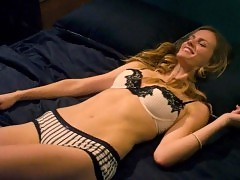 Brooklyn Decker Sexy Kissing & Cuddling Scene in 'Casual E...