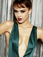 Jessica Alba cleavage makes me happy