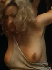 Monica Bellucci nude boobs in nude scene caps