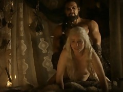 Emilia Clarke Nude Sex Scene In Game of Thrones Series