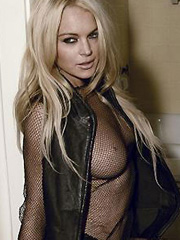 Lindsay Lohan more topless shots in magazine