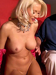 Holly Madison showing her big topless