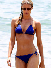 Paige Butcher hard nipples in a sexy bikini