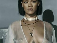 Rihanna nude boobs and ass