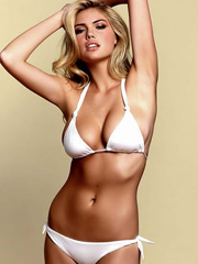 Kate Upton beach bunny bikini photoshoot
