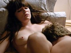 Emma Greenwell nude in hot oral sex scene