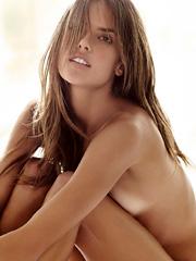 Alessandra Ambrosio topless in magazine