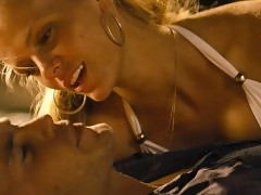 Brooklyn Decker Hot Kiss In Romantic Scene from 'Battleshi...