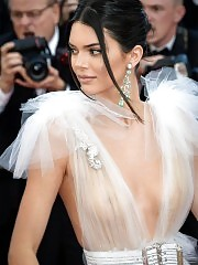 Kendall Jenner Wears See Through Outfits In Cannes