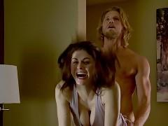 Alexandra Daddario Wild Sex Scene In The Layover Movie