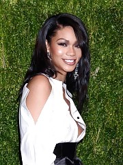 Chanel Iman Nip Slip at Vogue Anniversary !