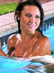 Audrina Patridge sweet topless in the jacuzzi