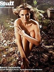 Bonnie Somerville Naked & Sexy Photos
