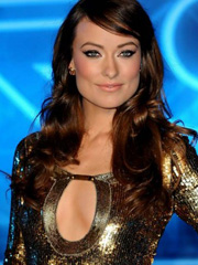 Olivia Wilde shows off some chest bone