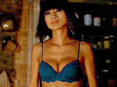 Bai Ling looking very hot during sex scene