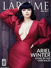 Ariel Winter Exposes Her Boobs For LaPalme Magazine