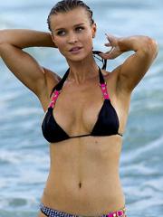 Joanna Krupa topless and hot bikini shots