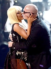 Christina Aguilera on american music awards