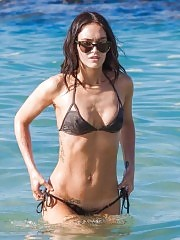 Megan Fox Sexy at the beach