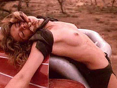 Carmen electra tied up naked join. And