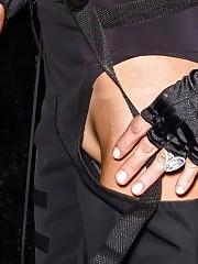 Paris Hilton Pussy Slip During New York Fashion Week
