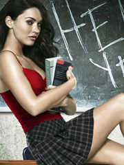 Megan Fox is a naughty school girl