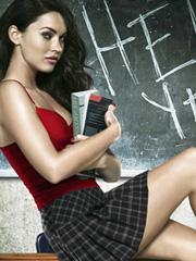 Megan Fox is a naughty school girl