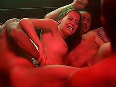 Bijou Phillips threesome hot sex action