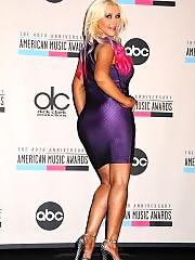 Christina Aguilera press conference in los angeles