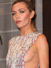 Abbey Clancy shows some hot sideboob action