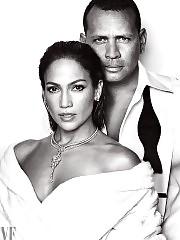 Jennifer Lopez & Alex Rodriguez Vanity Fair 2017