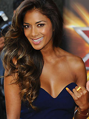 Nicole Scherzinger cleavage show for x factor