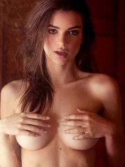 Emily Ratajkowski nude and country for Galore