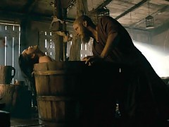 Dianne Doan Nude Fingering Scene From 'Vikings' Series