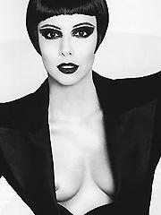 Eva Longoria nipple slip in magazine