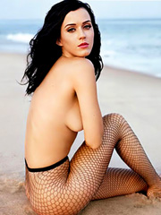 Katy Perry topless poses for magazine