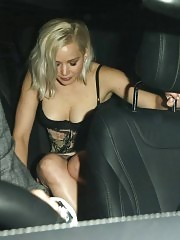 Jennifer Lawrence Sexy Panties Upskirt