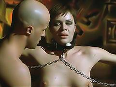 Elisabetta Cavallotti nude bondage sex scene