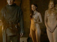 Charlotte Hope And Stephanie Blacker Nude Scene In Game Of T...