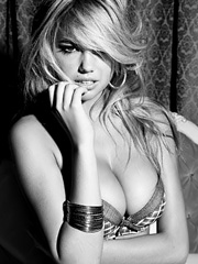 Kate Upton hot for guess lingerie campaign