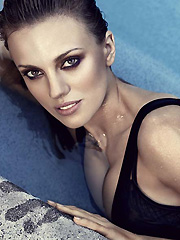 Bar Paly busts in hot swimsuit photoshoot