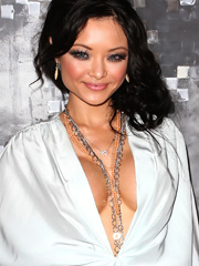 Tila Tequila drops massive fake cleavage